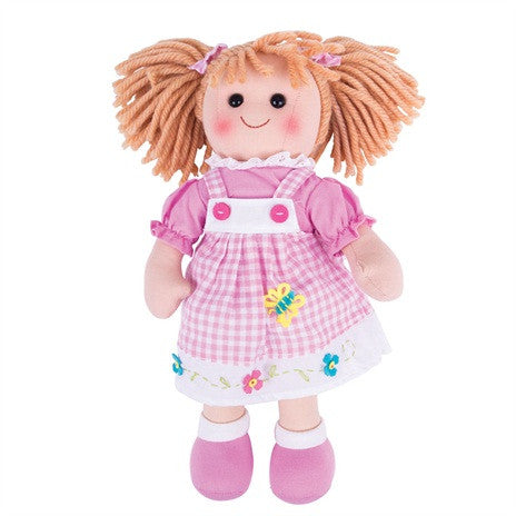 Ava Traditional Rag Doll - 34 cm - Kiddymania Rag Dolls