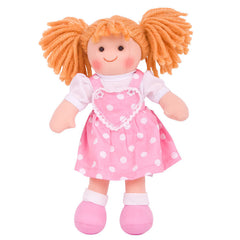 Ruby Traditional Rag Doll - 28 cm