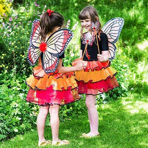 Fairy Fancy Dress Set - Red Admiral - one size