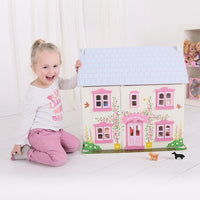 Rose Cottage Dolls House - Kiddymania Rag Dolls