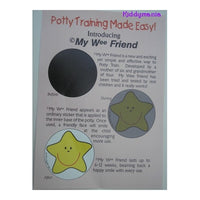 Potty Training Stickers - My Wee Friend Star - Kiddymania Rag Dolls