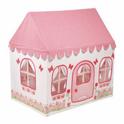 2 -in-1 Rose Cottage and Tea Shop Playhouse Small - Kiddymania Rag Dolls