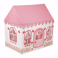 2 -in-1 Rose Cottage and Tea Shop Playhouse Large - Kiddymania Rag Dolls