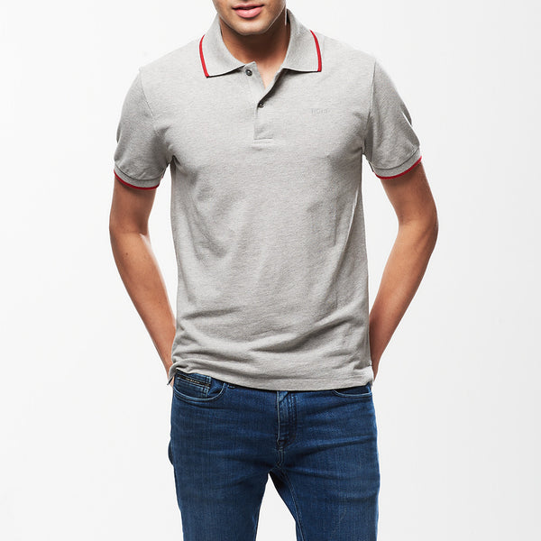 Hult Polo Shirt Grey