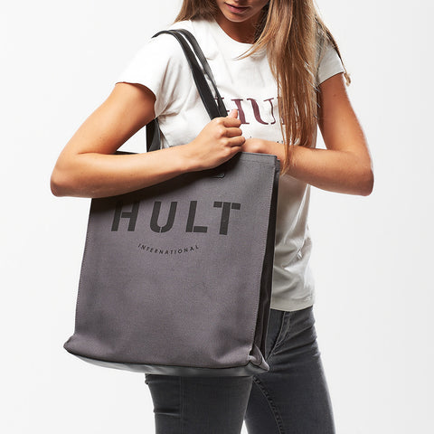 Hult Leather Detailed Tote Bag