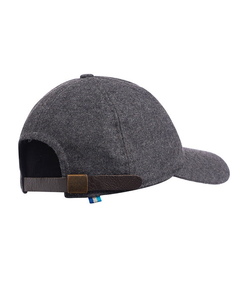 Hult Wool & Leather College Cap Charcoal