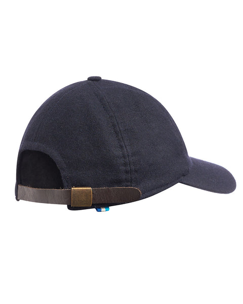 Hult Wool & Leather College Cap Navy