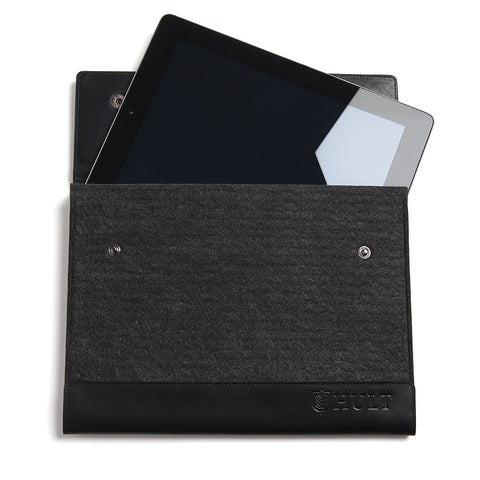Hult Leather and Felt Tablet Case