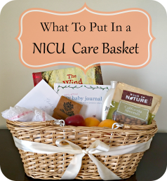 Making A Gift Basket For Parents Of A Preemie