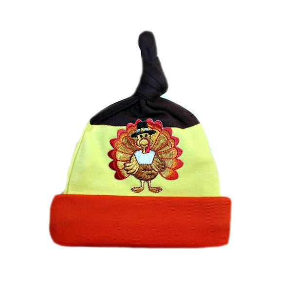 Unisex Baby Happy Thanksgiving Turkey Hat