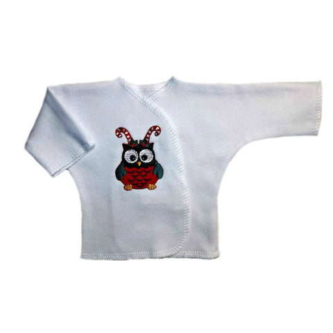 Unisex Baby Christmas Owl Long Sleeve Shirt