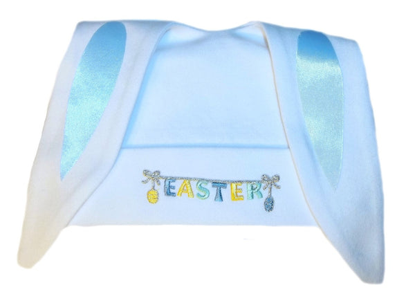 Baby Boy's Easter Bunny Ear Hat. Premature Babies, Preemie, Newborn and Toddler