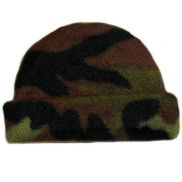 Baby Boy Camouflage Fleece Baby Hat sized for Preemie and Newborn Babies