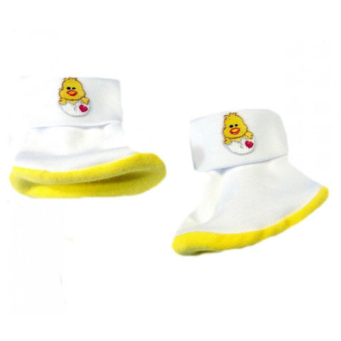 Unisex Baby Charming Chick Booties! Sized for Preemie and Newborn Babies