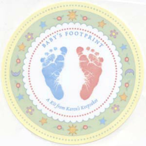 Babies First Footprint Kit