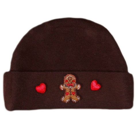 Baby Boys' Gingerbread Christmas Hat Sized for Preemie and Newborn Babies