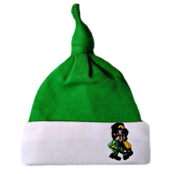 Baby Boys' Irish Pot of Gold Knotted Hat Sized for Preemie and Newborn Babies