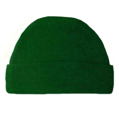 Newborn and Preemie Kelly Green Capped Unisex Baby Hat