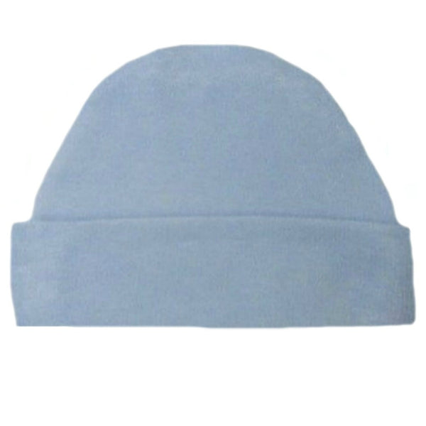 Newborn and Preemie Light Blue Capped Unisex Baby Hat