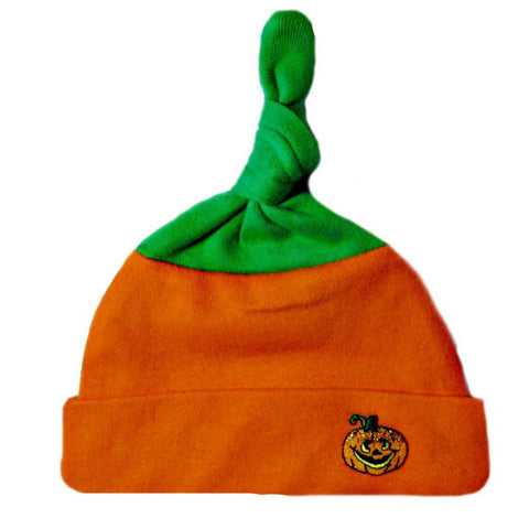 Unisex Baby Little Pumpkin Hat Sized For Preemie and Newborn Babies