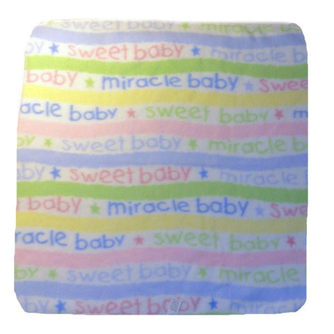Unisex Baby Miracle Baby - Keepsake Receiving Blanket
