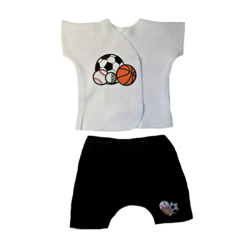 Baby Boys' Sport Baby Shirt and Shorts Clothing