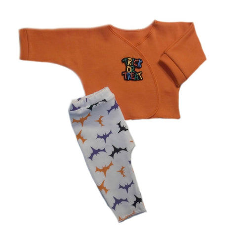 Trick or Treat Halloween Baby Shirt and Leggings