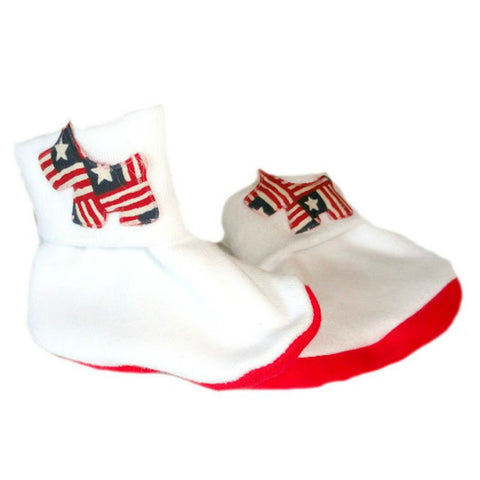 Unisex Baby USA Puppy Booties