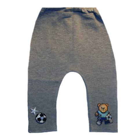Baby Boys' Gray Soccer Star Pants