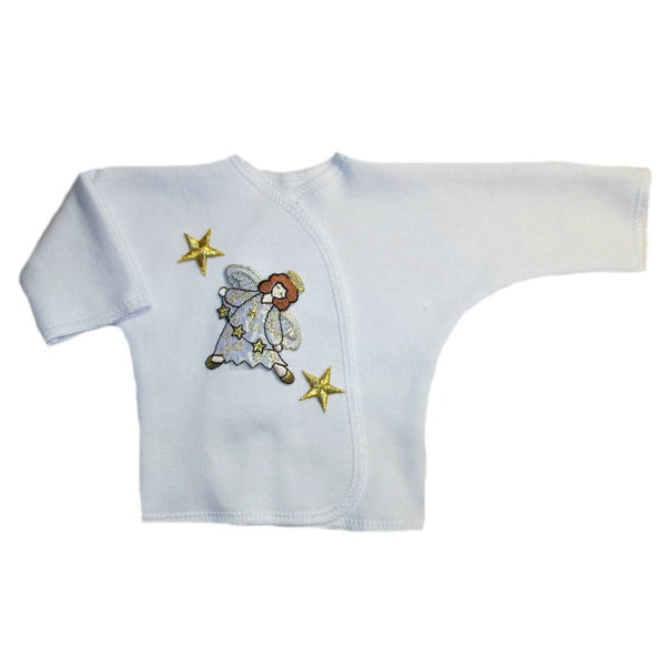 Joyful Angel Baby Girl Long Sleeve Shirt 4 Sizes for Preemie and Newborns