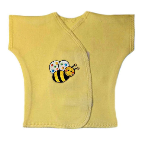 Newborn and Preemie Unisex Baby Bumble Bee Shirt