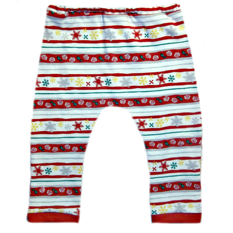 Christmas Fun Unisex Baby Cotton Knit Legging Pants 6 Preemie Newborn Toddler Sizes