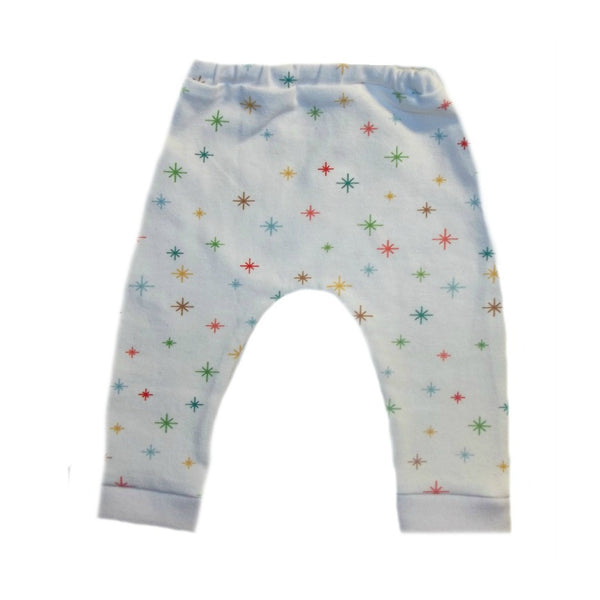 Unisex Baby Christmas Stars Leggings
