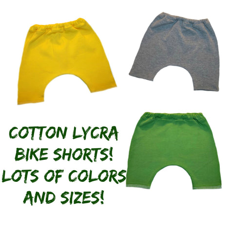 Toddler, Newborn and Preemie Baby Bike Shorts!