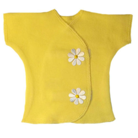 Baby Girls' Delightful Daisies Shirt for Micro Preemie, Premature Babies and Newborns,