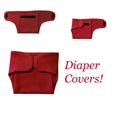 Solid Color Unisex Baby Diaper Covers - 17 Colors!