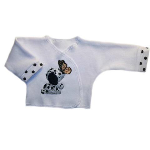 Dog and Butterfly Baby shirt