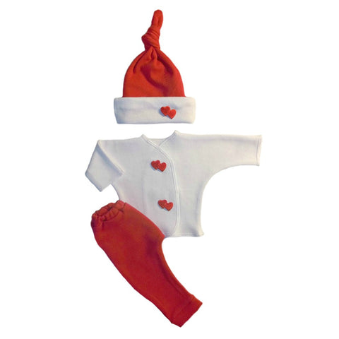 Double the Love 3 Piece Baby Clothing Set