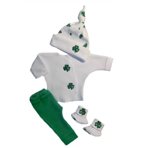 Newborn and Preemie Irish Blarney Baby Clothing