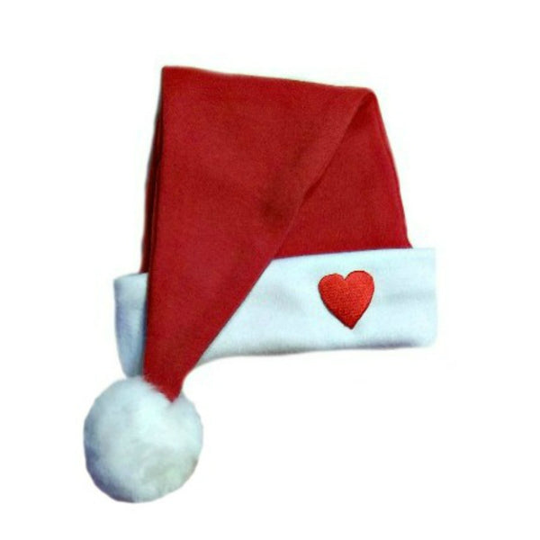 Red Baby Santa Hat. 7 Sizes for Preemie, Newborn and Toddler to 24 Months.