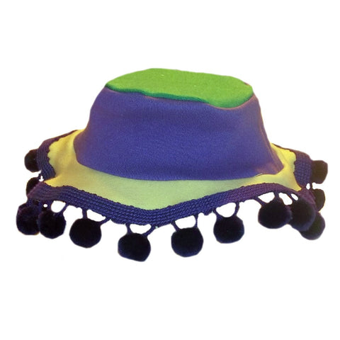 Unisex Baby Mardi Gras Sun Hat for Preemie Newborn and Toddlers