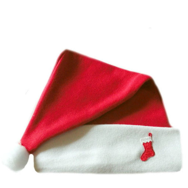 Unisex Baby Christmas Stocking Baby Santa Hat Sized for Preemie and Newborn Babies