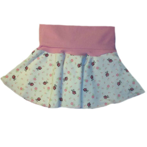 Baby Girls' Ladybug Skirt for Preemie, Newborn and Toddler