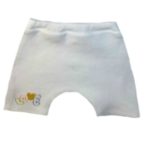 Baby Girls' Love Shorts for NICU Preemie, Premature Babies and Newborns,