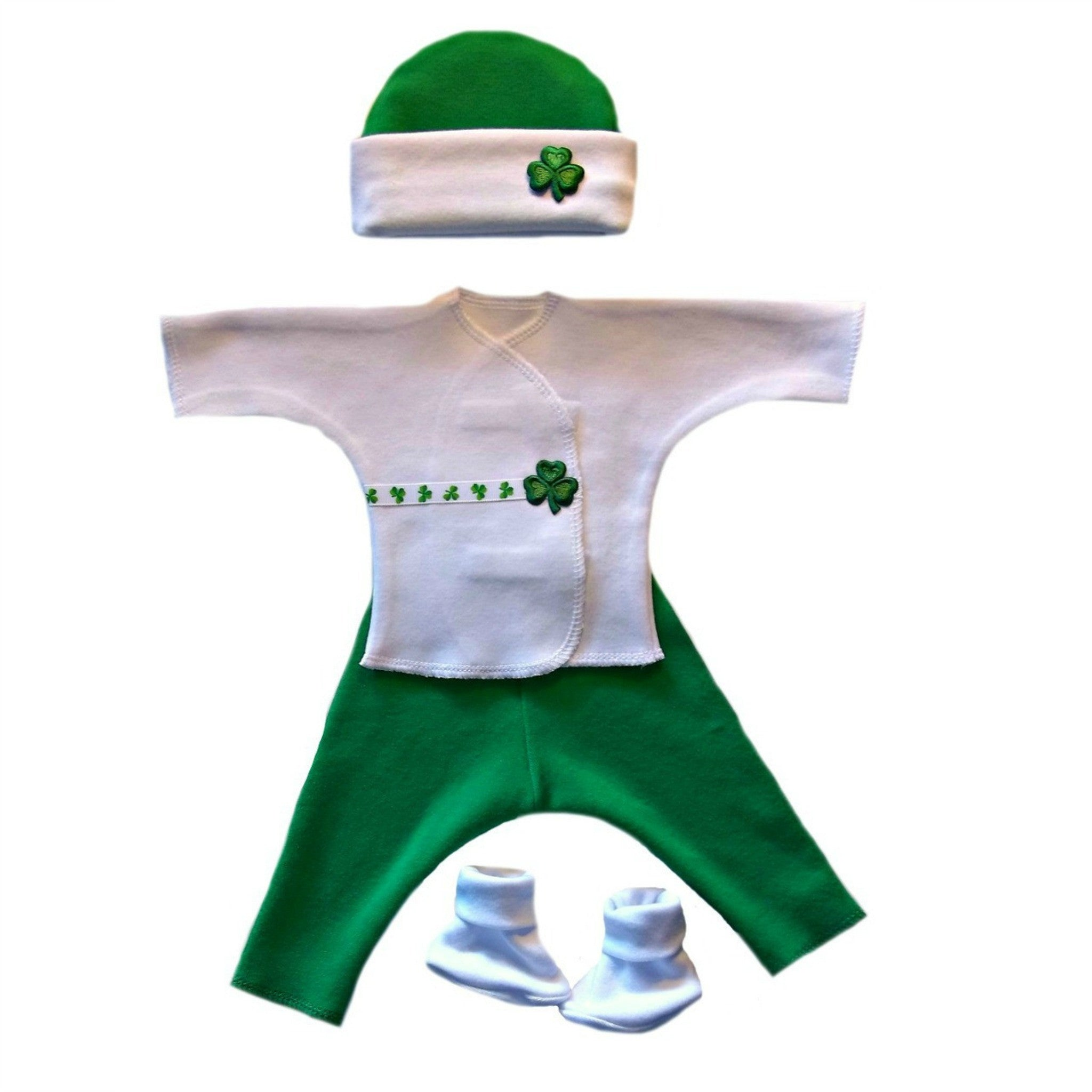 419987567 Baby Boy Preemie Newborn Luck of the Irish Clothing Set. For Premature  babies, NICU
