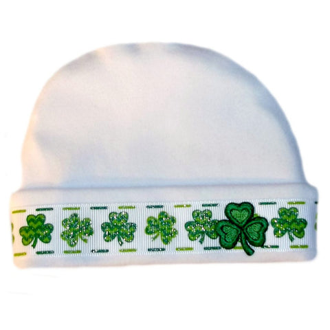 Newborn and Preemie Unisex Baby Irish Hat