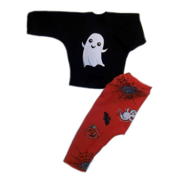 Happy Ghost Halloween  Baby Shirt and Leggings