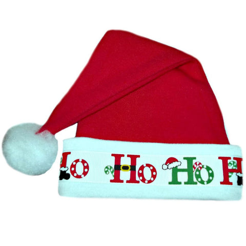 Unisex Baby HO HO HO BABY SANTA HAT Sized for Preemie and Newborn Babies