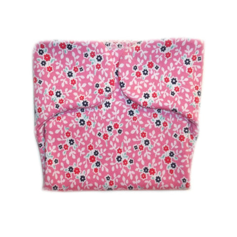 Summertime Flowers Baby Girl Diaper Cover