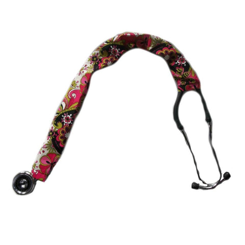 Floral Paisley Stethoscope Cover